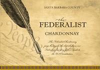 The Federalist Chardonnay Santa Barbara County 2014