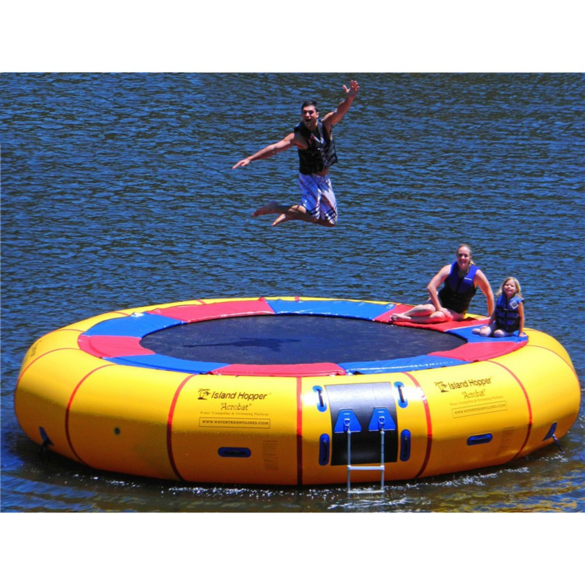 Island Hopper Acrobat 20 Foot Water Trampoline 2016