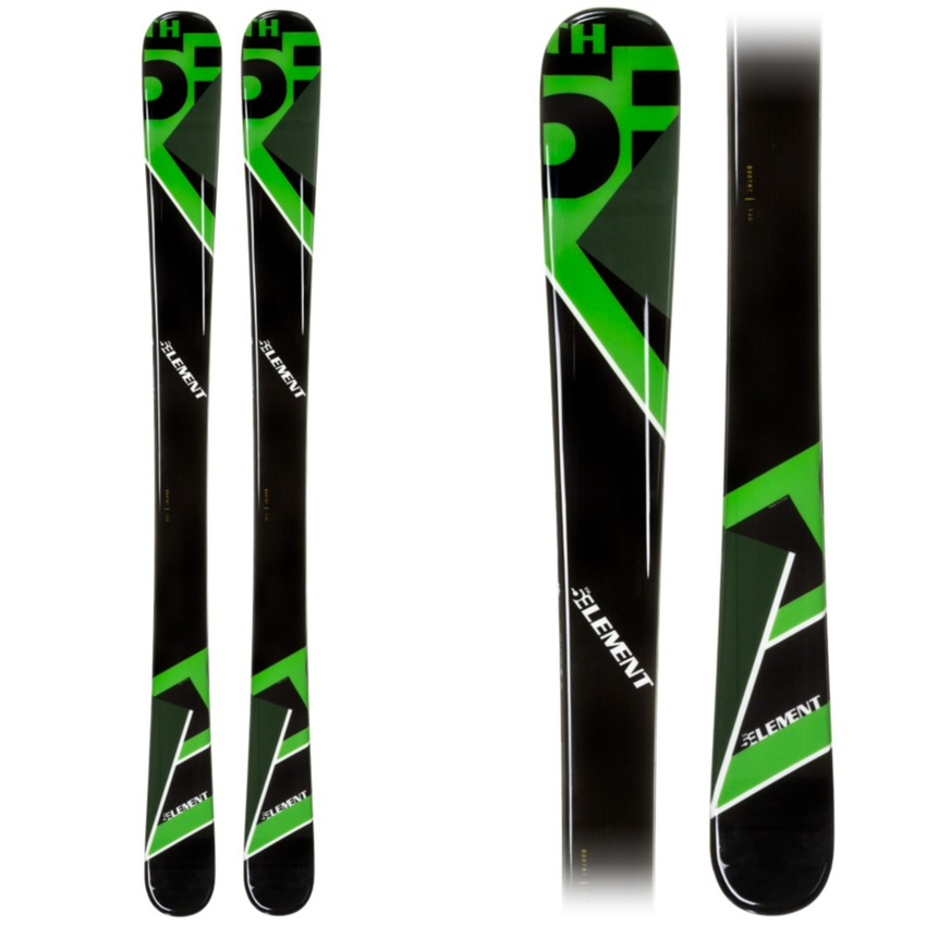 5th Element Green Machine Kids Skis