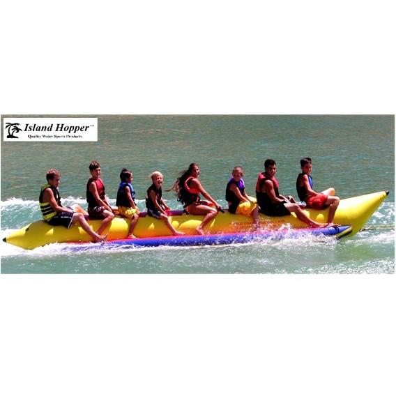 Island Hopper Commercial Banana Boat 8 Passenger Towable Tube 2016