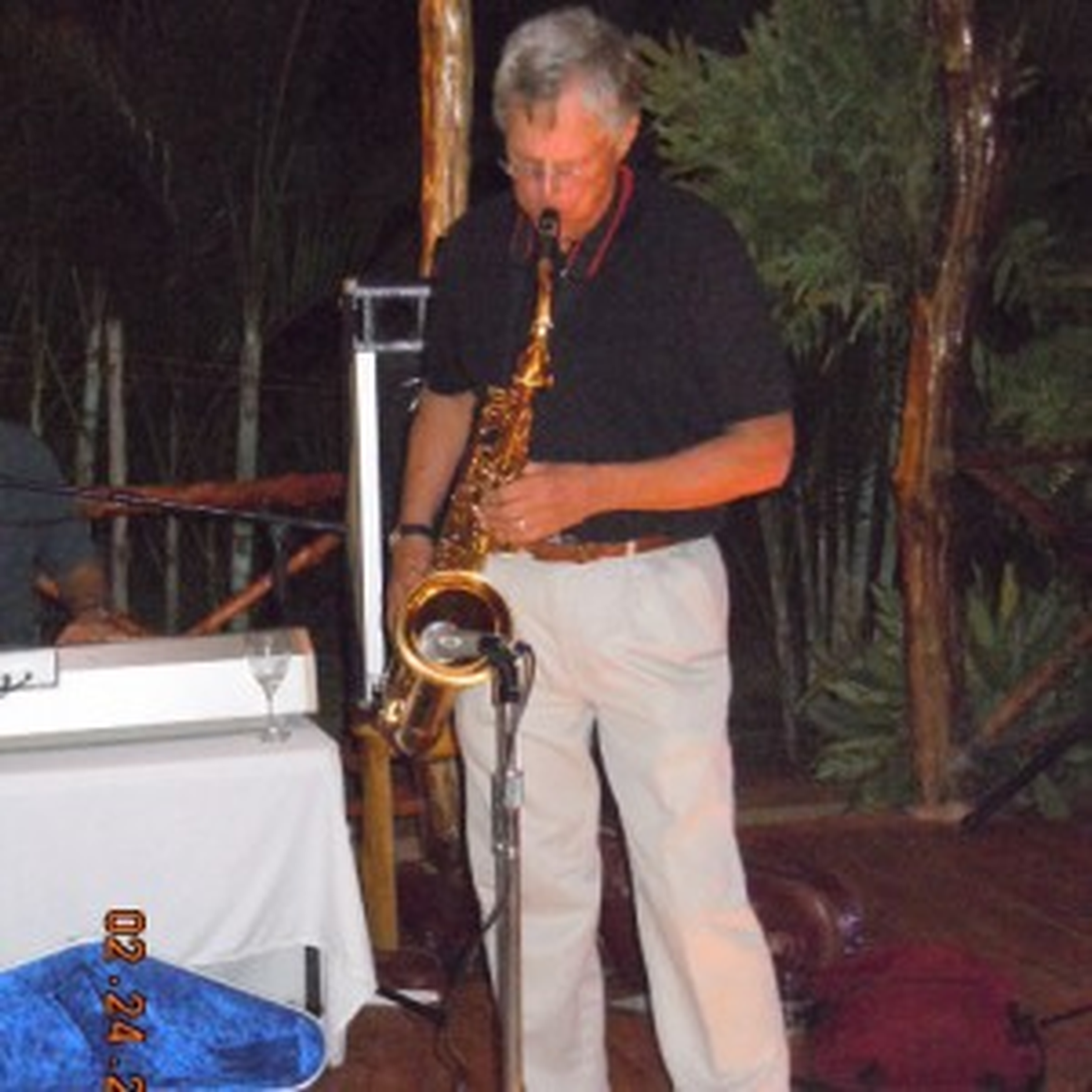 Jazz, Standards, old time rock, soul, blues, big band