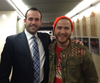 Photo of Keith Mckittrick with singer       Mike Posner      ​