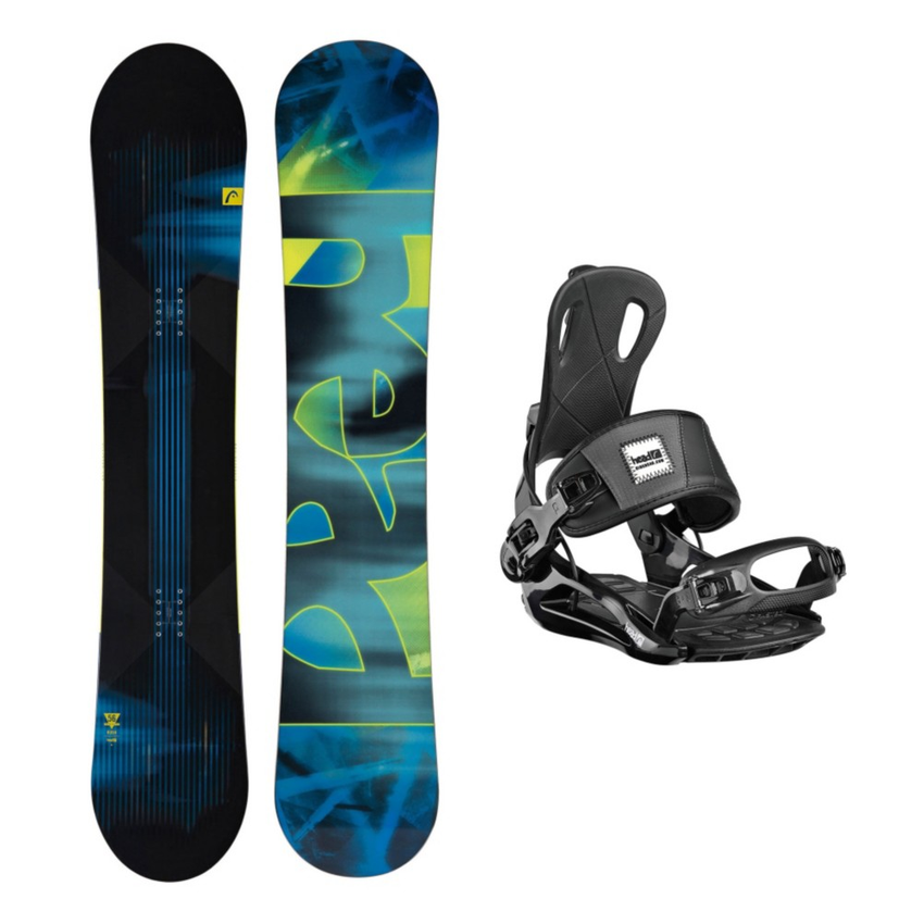 Head Rush RX One Snowboard and Binding Package 2016