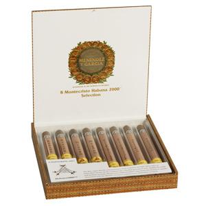 Cigar Samplers Montecristo Habana 2000 Glass-Tubed Sampler