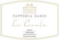 Fattoria Sardi Toscana Rosato le Cicale 2014