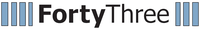 FortyThree logo