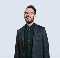 Photo of Adam Ludwin that was taken as part of a Forbes article he was featured in.