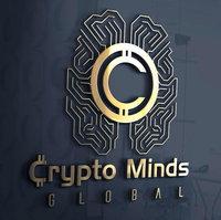 Crypto Minds Global Gold Logo