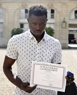 Mamoudou Gassama (Spiderman) wiki, Mamoudou Gassama (Spiderman) bio, Mamoudou Gassama (Spiderman) news
