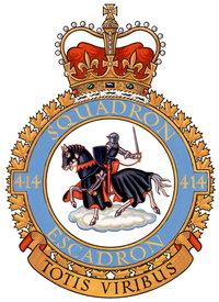 No. 414 Squadron RCAF wiki, No. 414 Squadron RCAF history, No. 414 Squadron RCAF news