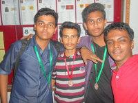 Pavan and his team mates 2015