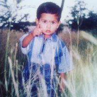 Pavan at 3 years old, taken photo in Muraga Rajandra mata, Chitradurga 2003.