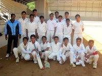 Pavan in under 15, under 16 cricket tournament, Chitradurga year 2009-2010.