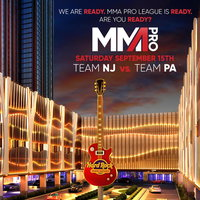 MMA Pro League Promotional Poster for the September 15th bout