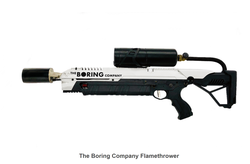 The Boring Flamethrower wiki, The Boring Flamethrower review, The Boring Flamethrower history, The Boring Flamethrower news