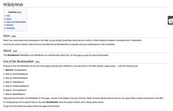 WikifyWeb wiki, WikifyWeb history, WikifyWeb news